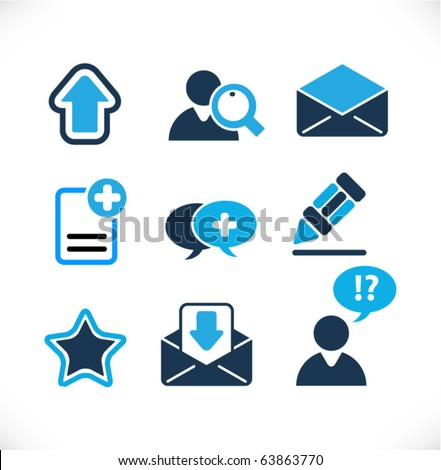 Web & Internet Vector Signs - stock vector