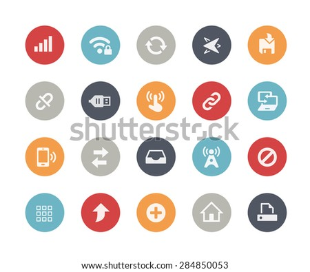 Web & Mobile Icons - 6 // Classics Series - stock vector