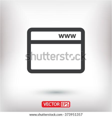 Webpage  icon, webpage  vector icon, webpage  icon illustration, webpage  icon eps, webpage  icon picture, webpage  flat icon, webpage  icon design, webpage  icon web, - stock vector