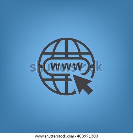 Website Icon JPG, Website Icon Graphic, Website Icon Picture, Website Icon EPS, Website Icon AI, Website Icon JPEG, Website Icon Art, Website Icon, Website Icon Vector, Website sign, Website symbol - stock vector