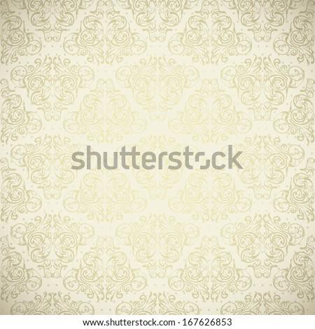 Wedding seamless pattern, wallpaper, Elegant  - stock vector