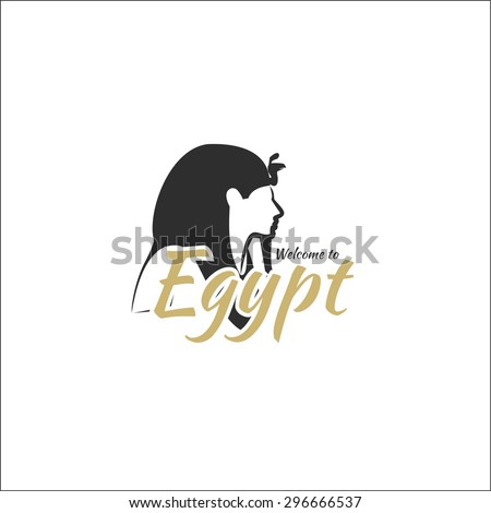 Welcome to Egypt - stock vector