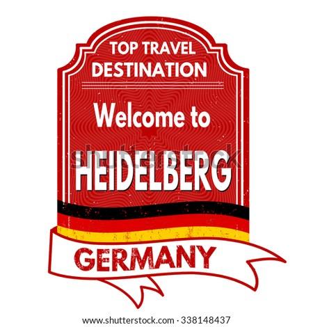 ผลการค้นหารูปภาพสำหรับ heidelberg germany welcome