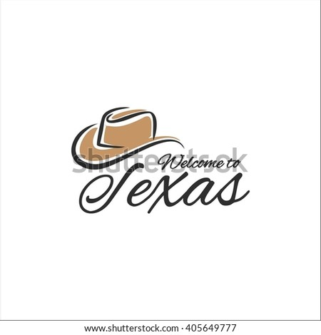 Welcome to Texas - stock vector