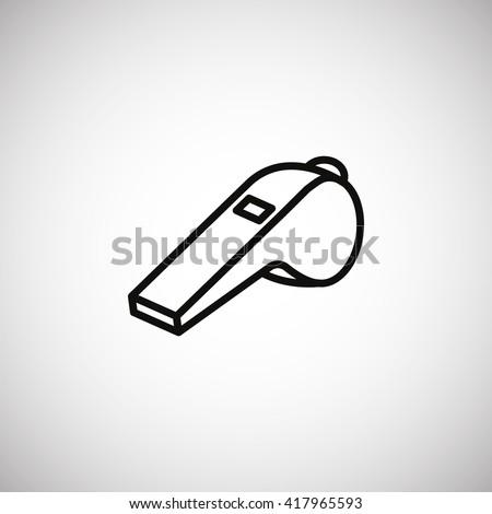 Whistle Icon. Whistle Icon Vector. Whistle Icon Art. Whistle Icon eps. Whistle Icon Image. Whistle Icon logo. Whistle Icon Sign. Whistle Icon Flat. Whistle Icon design. Whistle icon app. Whistle icon. - stock vector