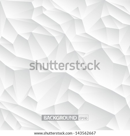 White Abstract Background / EPS10 Vector Illustration / can be use for web design, web elements, infographics, banners, advertising, applications, wallpaper, desktop / - stock vector