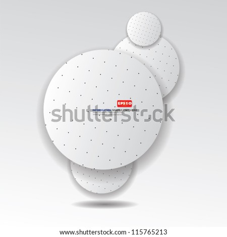 White abstract background,Vector - stock vector