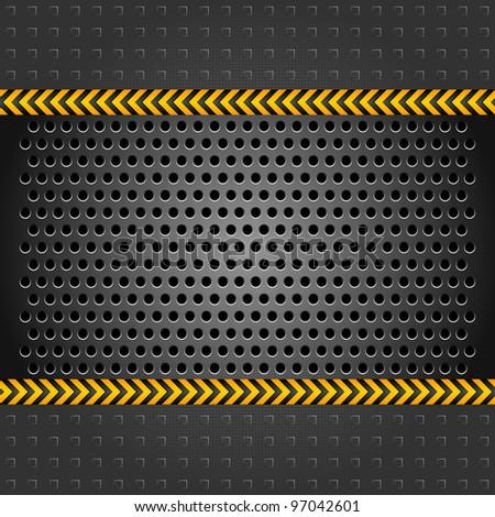 White blank shape on corduroy background. Vector 10eps - stock vector