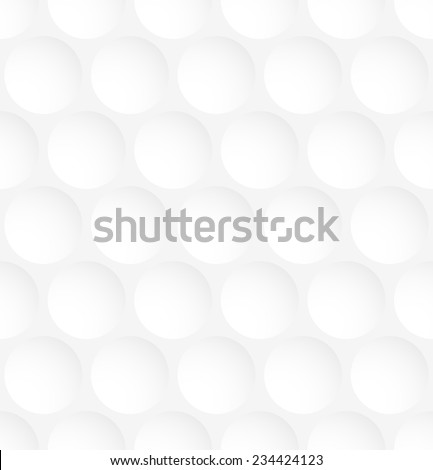 White circle abstract seamless pattern background. Vector illustration - stock vector
