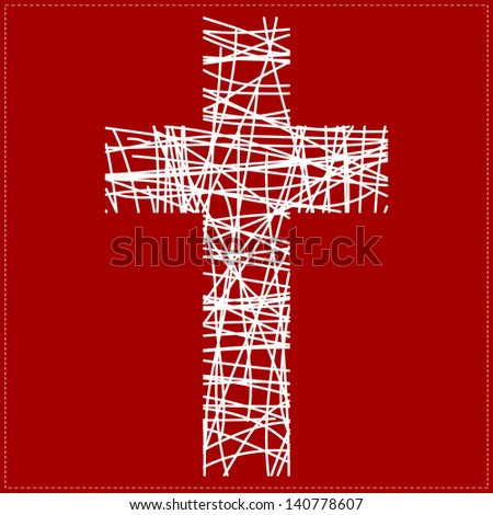 Black White And Red Background Images White Cross on Red Background