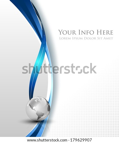 White elegant abstract background - vector illustration - stock vector