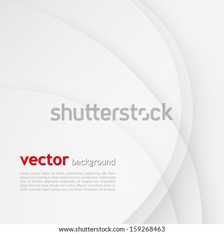 White elegant business background.  - stock vector