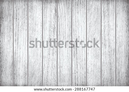 White, grey wooden texture, old painted planks - stock vector