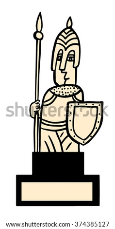 White Guard - stock vector