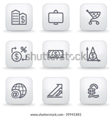 White label for web 23 - stock vector