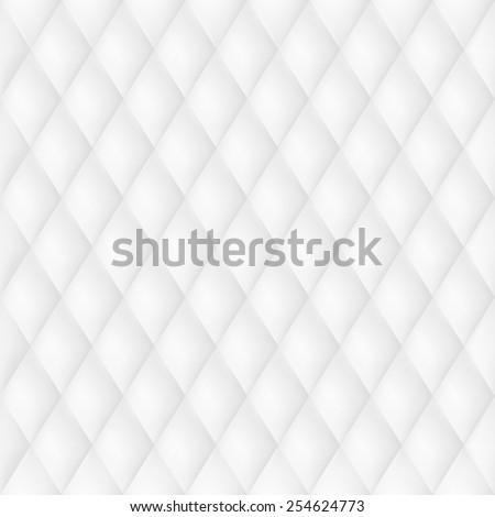 White Leather Luxury Background. EPS 10 - stock vector