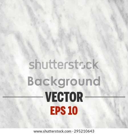 White marble texture Vector background. - stock vector