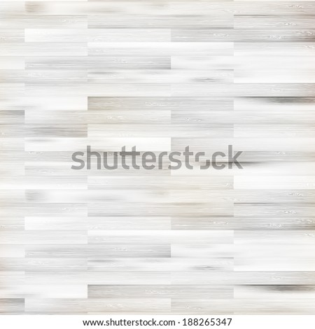 White modern wood texture parquet flooring. + EPS10 vector file - stock vector