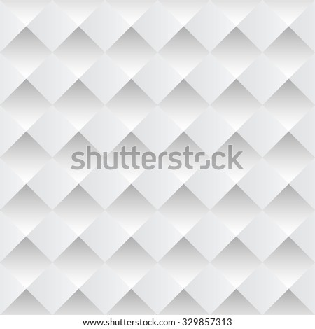 white pyramid background with seamless designs pattern - stock vector