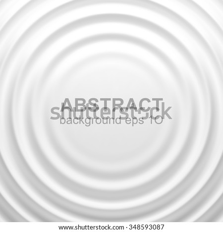 White rippled background with place for your content. White background design for banner, poster, flyer, card, postcard, cover, brochure. Eps 10 vector illustration with gradient mesh. - stock vector