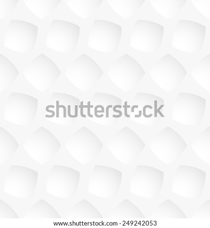 White square abstract seamless pattern background. Vector illustration - stock vector