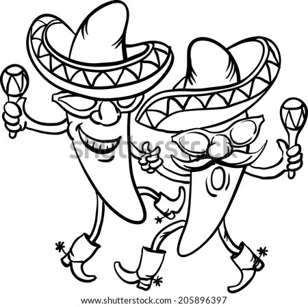 Dancing Cartoon Pictures Dancing Cartoon Mexican