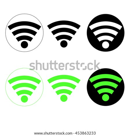Wi-Fi icons  - stock vector