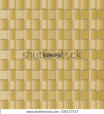 Wicker background (seamless pattern) - stock vector