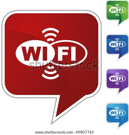 Wifi - stock vector