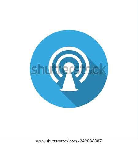 wifi icon. vector design - stock vector