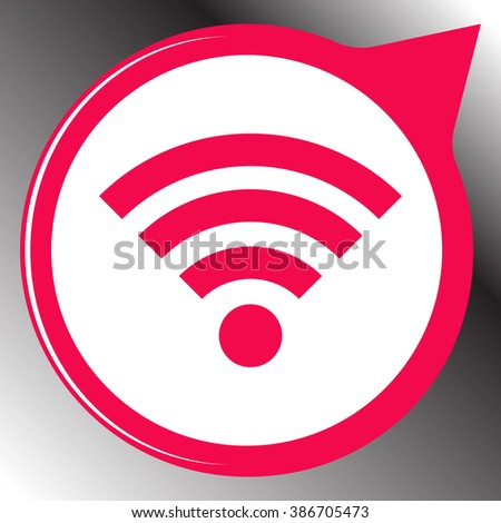 Wifi Icon / Wifi Icon Object / Wifi Icon Picture / Wifi Icon Drawing / Wifi Icon Image / Wifi Icon Graphic / Wifi Icon Art / Wifi Icon JPG / Wifi Icon JPEG / Wifi Icon EPS / Wifi Icon AI - stock vector