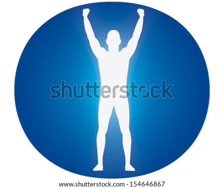 Winning - stock vector