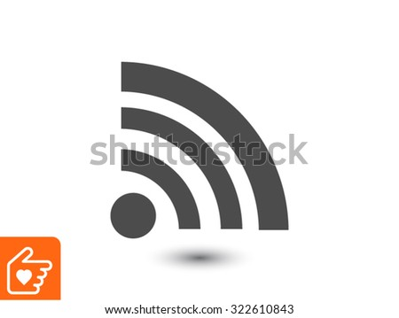wireless icon - stock vector