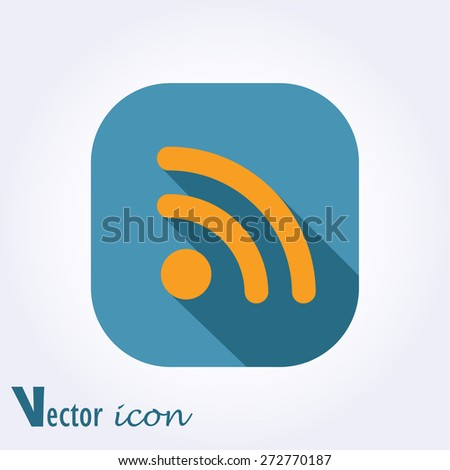 Wireless Icon.Vector - stock vector