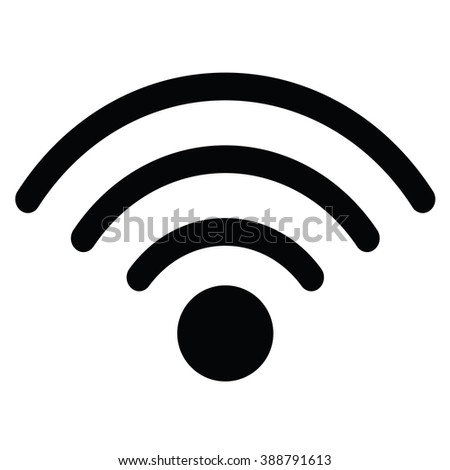 Wireless Icon, Wireless Icon Eps10, Wireless Icon Vector, Wireless Icon Eps, Wireless Icon Jpg, Wireless Icon Picture, Wireless Icon Flat, Wireless Icon App, Wireless Icon Web, Wireless Icon Art - stock vector