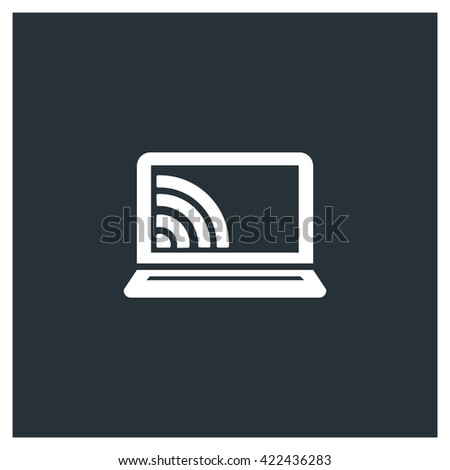 Wireless Icon, Wireless Icon Eps10, Wireless Icon Vector, Wireless Icon Eps, Wireless Icon Jpg, Wireless Icon Picture, Wireless Icon Flat, Wireless Icon App, Wireless Icon Web, Wireless Icon Art - stock vector
