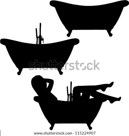 Bathtub illustration Stock Photos, Images, & Pictures ...