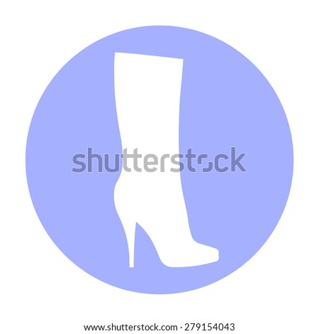 Womens Fashion Clothes Vintage Icons Royalty Free Stock Photo