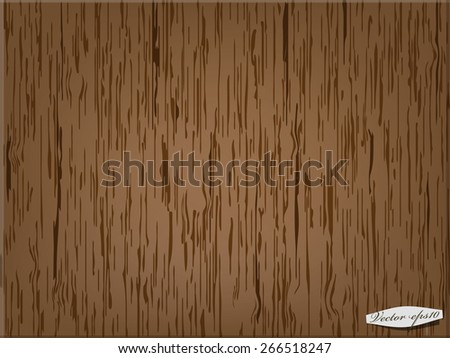 wood texture - stock vector