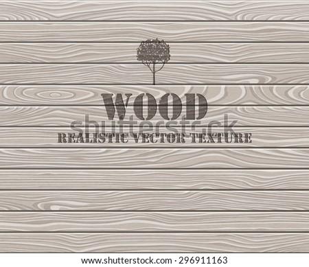 Wood texture. Aged oak planks background. EPS 10 vector illustration. - stock vector