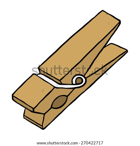 Clothespins Stock Vectors & Vector Clip Art | Shutterstock