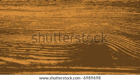 wooden cut texture - close-up (vector) - stock vector