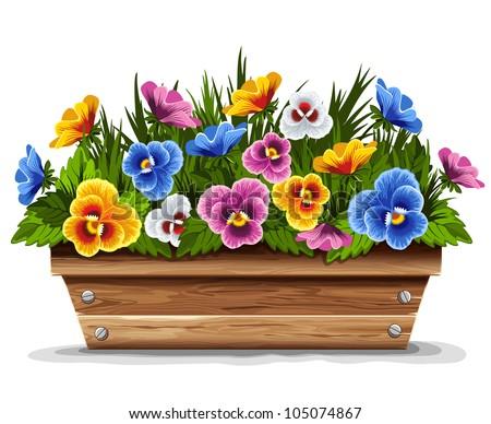 flower pot stock photos images pictures shutterstock. Black Bedroom Furniture Sets. Home Design Ideas