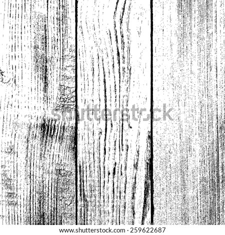 Wooden Planks overlay texture for your design. EPS10 vector. - stock vector