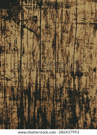 wooden texture. abstract background. vector illustration. - stock vector