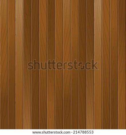 Wooden texture. Vector background. - stock vector