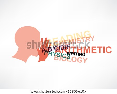 word of mouth icon - stock vector