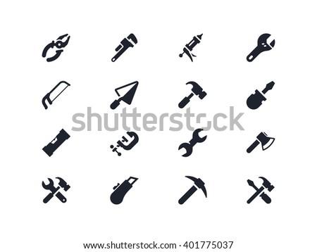 Work tools. Lyra series - stock vector