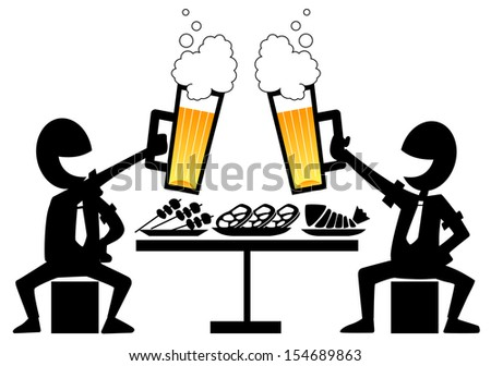 banquet people stock vectors   vector clip art shutterstock water clip art images waiter clipart