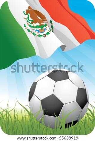 World Soccer - stock vector